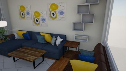Alice Bennet LivDin R - Modern - Living room  - by CaroTivityArts