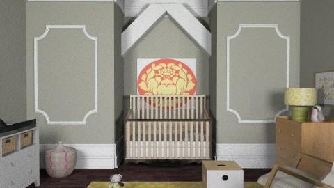 Burnt Orange Nursery - Eclectic - Kids room  - by ruthiec1