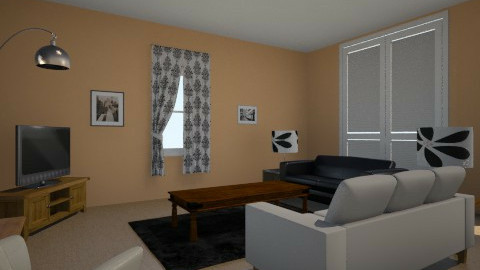 Living Room in the House - Retro - Living room  - by Deidredit36