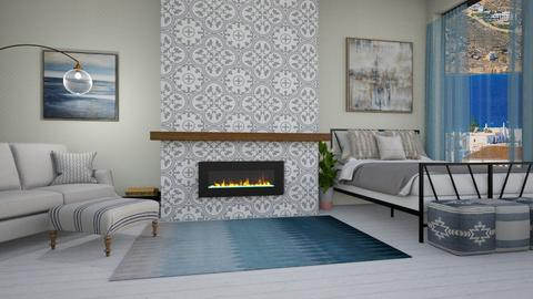 fireplace_contest - Bedroom  - by SouthernDeco