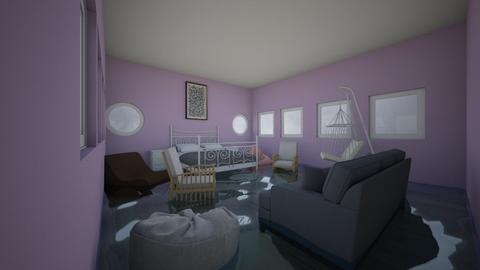 flooded bedroom - by Nini_DRW_10