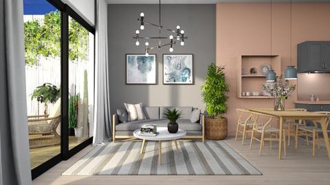 564 - Modern - Living room  - by Claudia Correia