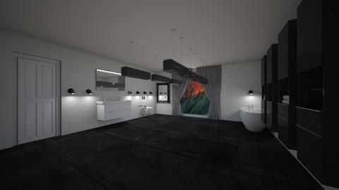 Large Bathroom - Modern - Bathroom  - by riordan simpson