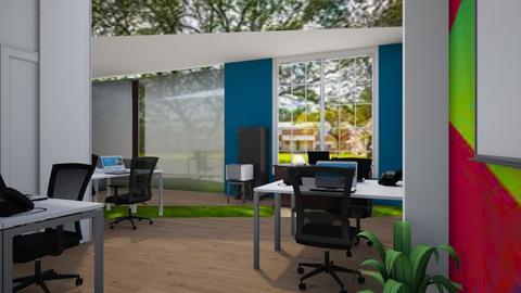 Reception entrance - Office  - by Jeycie Designs