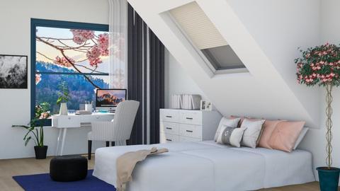 Cozy - Minimal - Bedroom  - by Gouri Renjith