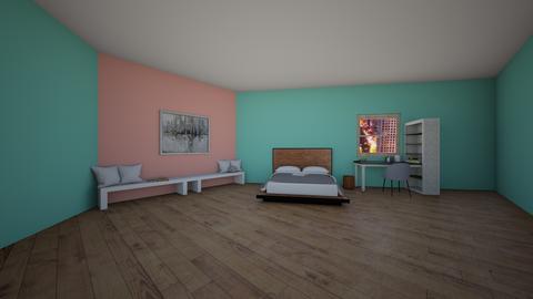 Cute girls bedroom - Minimal - Bedroom  - by artsy_naturelover