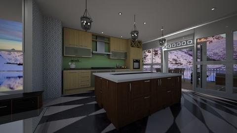 lost in memory - Kitchen - by Emiley B