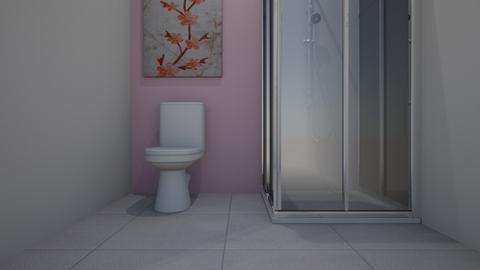 Cherry Blossom Bathroom - Modern - Bathroom  - by DanceUnicorn