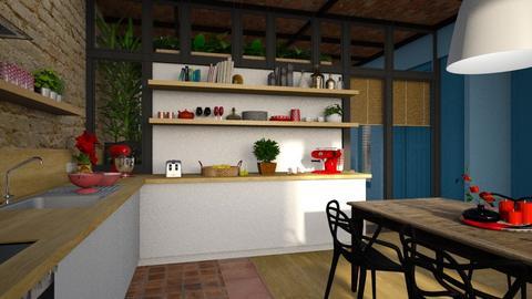 Barcelona detail 2 - Modern - Kitchen  - by Claudia Correia