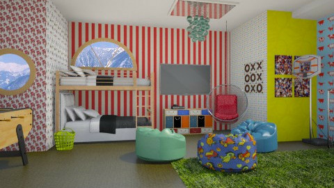Boys room - Kids room  - by 532johanna