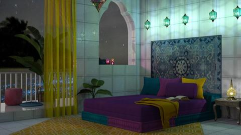 M_modern Indian - Bedroom  - by milyca8