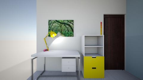 Interior Design Project  - Living room  - by Grafalex