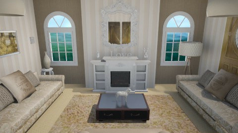 neutral <3 - Living room - by chelseajade