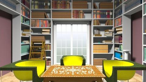 A comfy library - Classic - by ninikunebi
