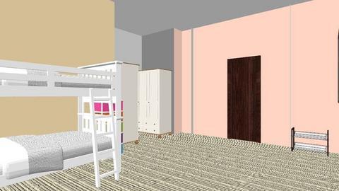twin girls room - Kids room - by 123456789hi