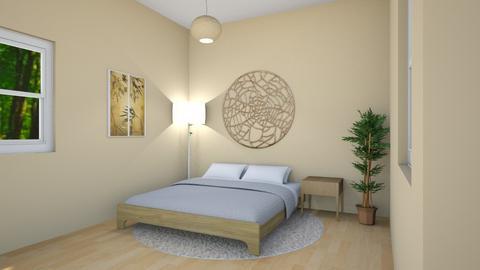 Bamboo Bedroom - Bedroom - by imgoodatusernames