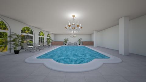 Fancy pool - Modern - by AlphaWolfLil