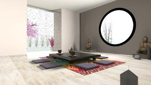 Coloring Gautama - Global - Dining room - by Samdeco77