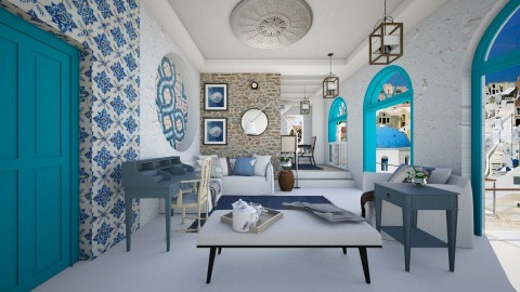 grecce again - Modern - Living room  - by Evangeline_The_Unicorn