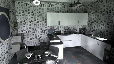 Kitchen - Retro - Kitchen  - by danish_iqbal