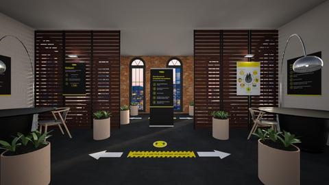 SOCIAL DISTA - Office  - by gaietta_aa