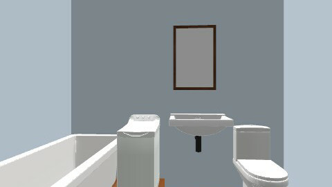 fürdőszoba - Minimal - Bathroom  - by Dolori