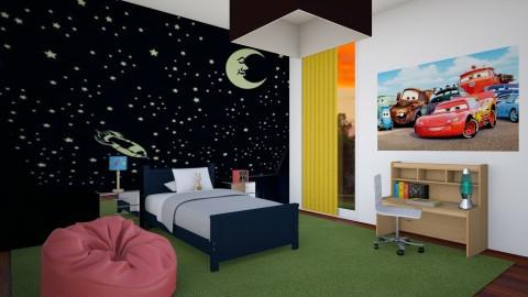 Boy Room 8year Old - Kids room  - by Sophia Urcuyo