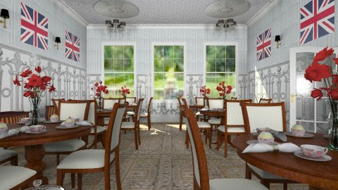 jubilee tearoom - Classic - Dining room  - by auntiehelen
