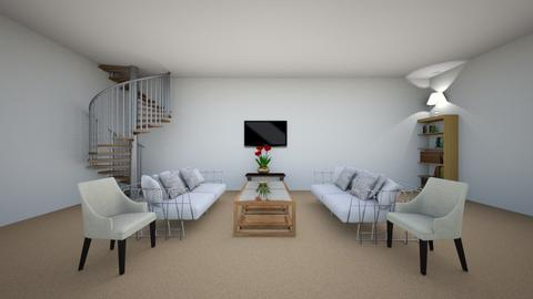Family room - by flufftae