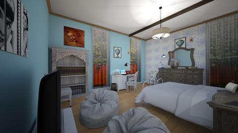 Monserratte 5 - Vintage - Bedroom  - by montoym20