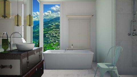 Mint Envelope - Modern - Bathroom  - by 3rdfloor