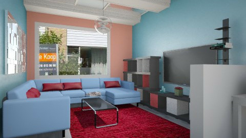 House - Retro - Living room  - by Bobikee
