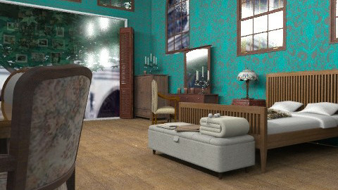 Dead room - Vintage - Bedroom  - by Your well wisher