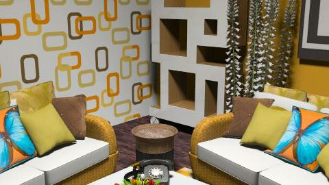 retro1 - Retro - Living room  - by lishyliry