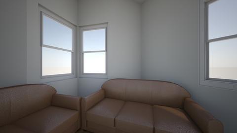 Shipston small V w chair - Living room  - by BlankaRoomDesign