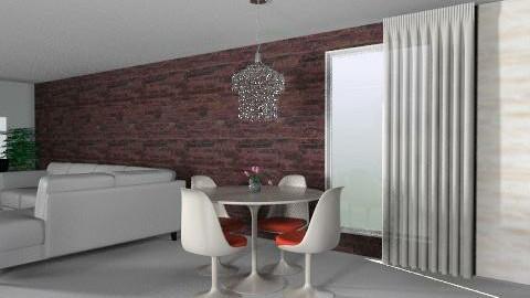 Living Area - Retro - Living room  - by Karen Clark