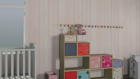 princess nursery - Glamour - Kids room  - by 21chels