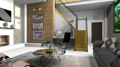 1 - Living room - by hannahsdesigns