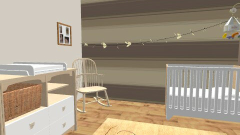 Neutral Nursery. - Classic - Kids room  - by mydeco