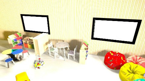 servicio - Eclectic - Kids room  - by Windi