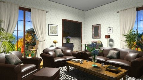 classic living room - Classic - Living room  - by GALE88