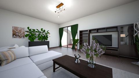 salon - Classic - Living room  - by monek299