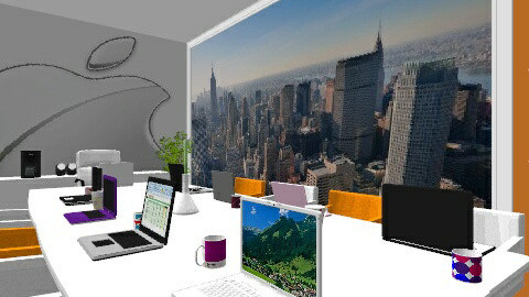 Office Meeting Room - Modern - Office  - by 3923