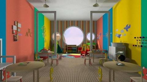 Playschool - Modern - Kids room  - by HGranger2