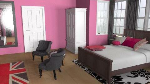 Elizabeth's Room- High School - Glamour - Bedroom  - by colleenod25