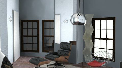 Seth Bader Living Room 2 - Modern - Bedroom - by Bryan Marquardt