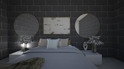 golden grey - Bedroom  - by makkic