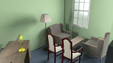 senior pastor office idea - Classic - Office  - by greengaloshes