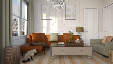 Historical Apartment - Living room - by Vie Confortable