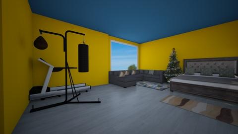 First project - Bedroom  - by Aldio scoot kid